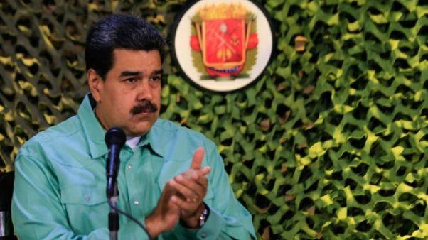 Le président vénézuélien Nicolas Maduro, le 15 février 2019 à Caracas
