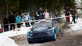 Rallying - Suninen shines on first day in Sweden