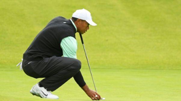 Golf: Holmes en tête du Genesis Open après le 1er tour, Woods loin derrière