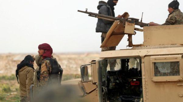 """Syrie: l'EI terré dans des tunnels, la fin du """"califat"""" approche"""