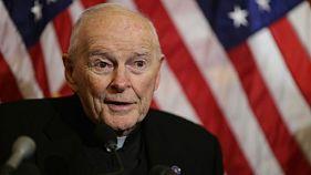 Le cardinal américain Theodore McCarrick, le 8 décembre 2015 à Washington