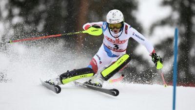 Mondiaux de ski: Holdener devant, suspense entier après la 1re manche du slalom
