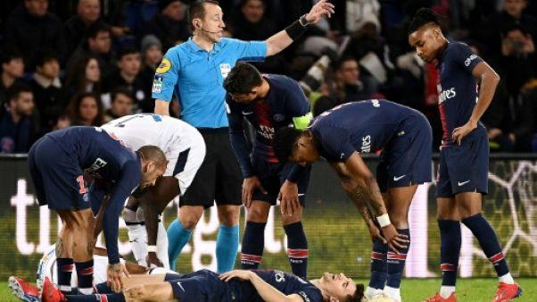 PSG: Meunier forfait, Choupo Moting incertain contre Saint-Etienne