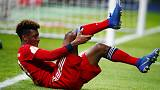 كومان لاعب بايرن جاهز لمباراة ليفربول بعد تبدد مخاوف الإصابة