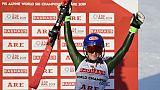 Mondiaux de ski: Shiffrin trouve le remède pour un 4e titre d'affilée en slalom