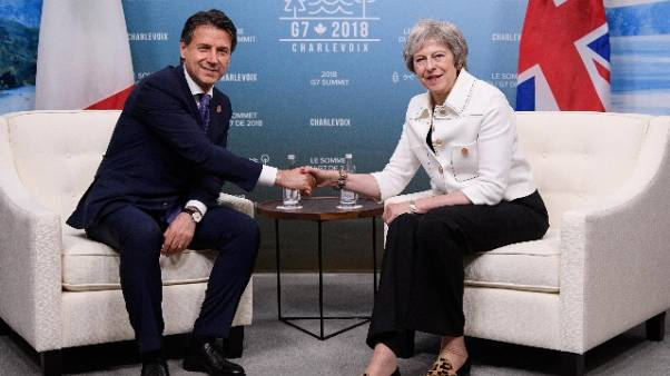 Brexit: telefonata tra Conte e May