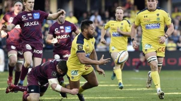 Top 14: Clermont bat Bordeaux-Bègles et reprend la pole