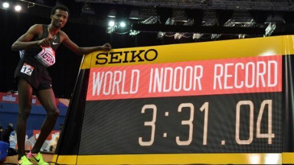 Athlétisme: Samuel Tefera bat le record du monde du 1500 m en salle