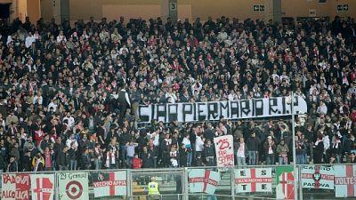 Padova-Foggia: disordini allo stadio