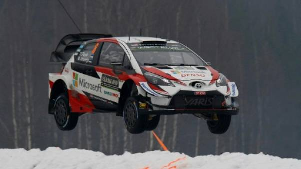 Rallye de Suède: Tänak en tête, Loeb 7e et Suninen abandonne