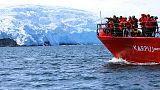 البحث عن أدلة على التغير المناخي في الصفائح الجليدية للقارة القطبية الجنوبية
