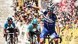Tour de Colombie: Alaphilippe remporte la 5e étape et prend la tête