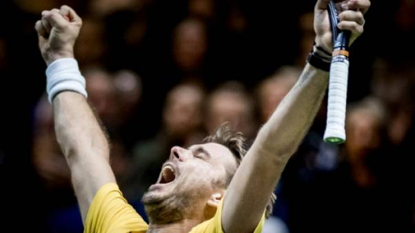 Tennis: Wawrinka rejoint Monfils en finale à Rotterdam