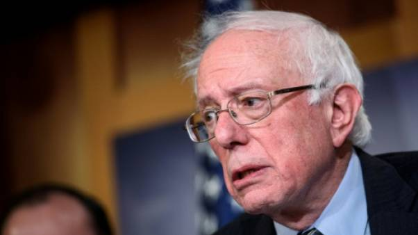 Le sénateur américain Bernie Sanders, le 13 décembre 2018 à Washington