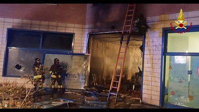 Incendi: a fuoco parafarmacia ad Ancona