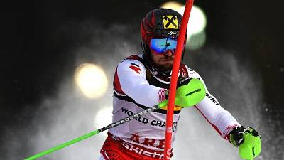 Mondiali sci: Hirscher guida lo slalom