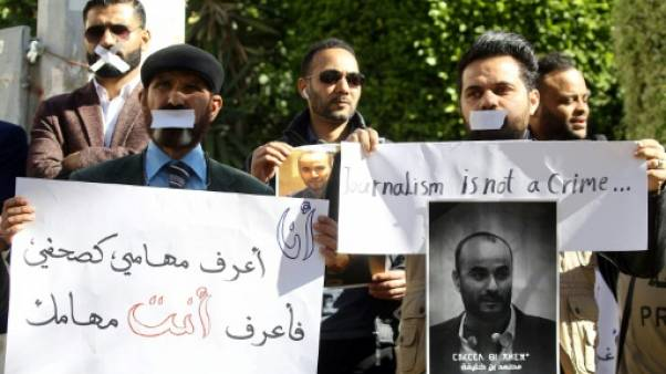 """Libye: situation """"dramatique"""" de la liberté de l'information, déplore RSF"""