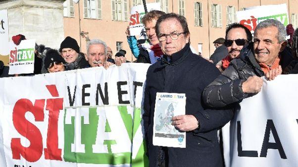 Giachino,111mila firme sì Tav,ora a Roma