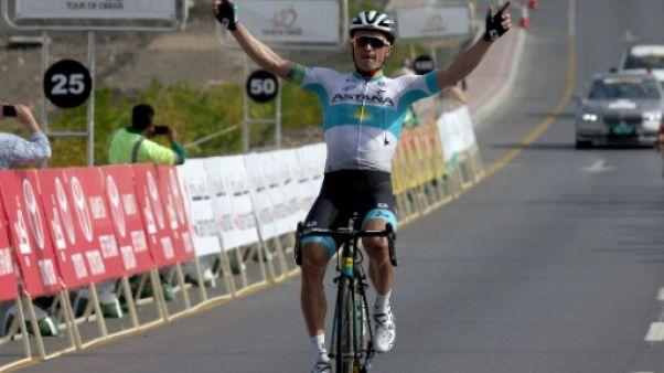 Tour d'Oman: Lutsenko remporte la 2e étape, Kristoff reste en rouge