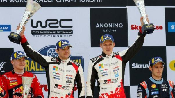 Rallye de Suède : Tänak s'impose et prend les commandes du mondial devant Ogier à la peine