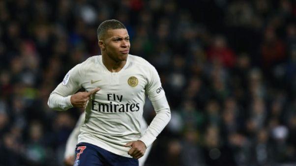 Ligue 1: Mbappé porte le PSG, Lille piétine, Courbis supervise Caen