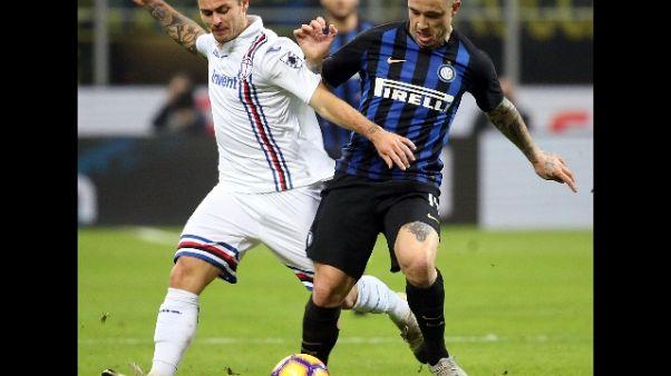 Serie A: Inter-Sampdoria 2-1