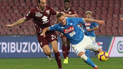 Serie A: Napoli-Torino 0-0