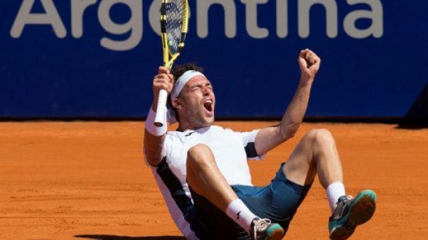 Tennis: troisième titre pour Cecchinato, à Buenos Aires sur terre battue