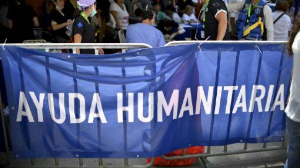 Venezuela: des hôpitaux de campagne pour compléter l'aide humanitaire
