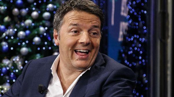 Diciotti:Renzi,M5S vuol salvare poltrona