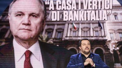 Bankitalia, Giorgetti: non decidiamo noi