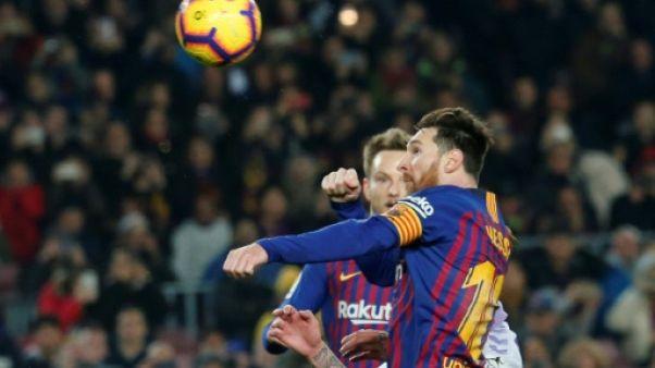 Ligue des champions: à Barcelone, tout repose toujours sur Messi