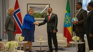 Norway's Prime Minister, H. E. Erna Solberg, at the African Union (AU) Summit in Addis Ababa 9-10 February 2019