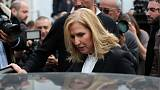 Livni warns over peace and democracy as quits Israeli politics