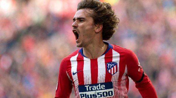 Champions: Griezmann, Atletico mira alto