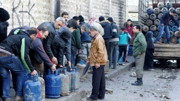 Syrie: à Alep, les pénuries énergétiques ponctuent la vie des habitants