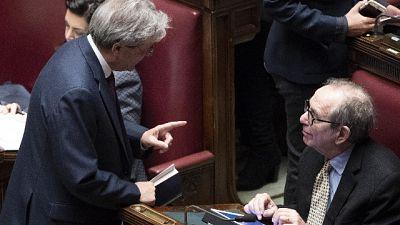 Ue: Padoan, Italia si è isolata