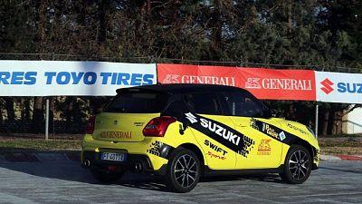 Rally Italia Talent,spettacolo in Puglia