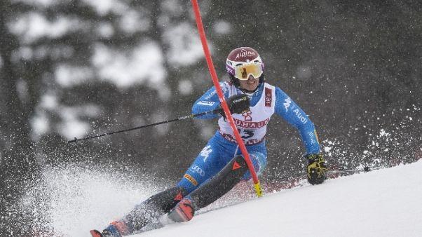 Sci:Coppa del mondo,c'è slalom parallelo