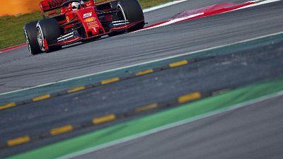 F1: test Montmelò nel segno di Vettel