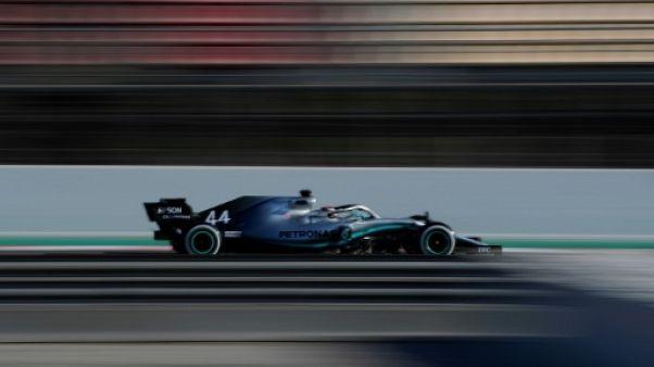 """F1: Hamilton """"dans un super état d'esprit"""""""