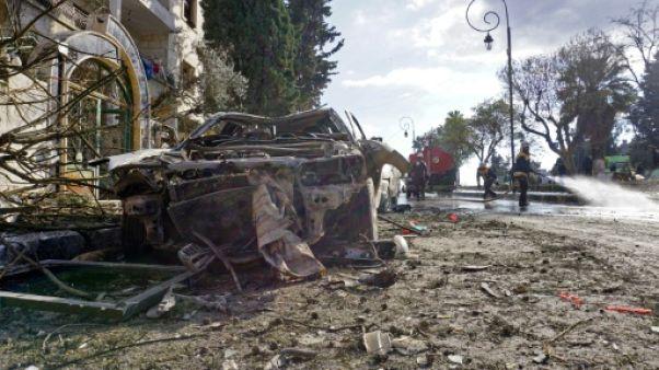 Syrie: au moins 24 morts dans un double attentat à Idleb (ONG)