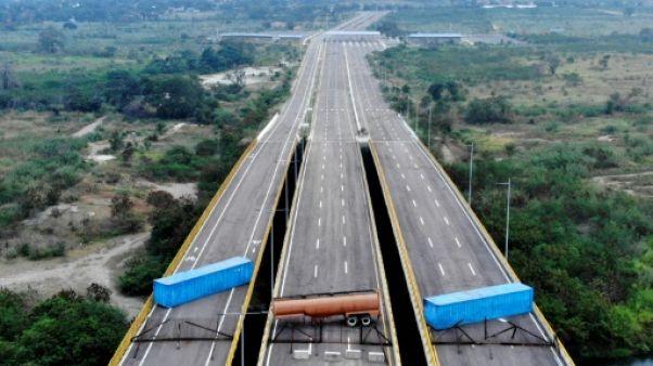 Venezuela: le pouvoir organise son propre concert à la frontière colombienne