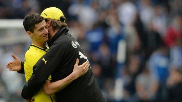 """""""J'ai tant appris de lui"""": Lewandowski retrouve Klopp en Ligue des champions"""