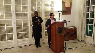 Visite au Togo d'anciens auditeurs de l'Institut des Hautes Etudes de défense nationale (IHEDN)