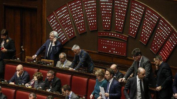 Senato, ok a ddl collegi con 136 sì