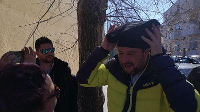 """Salvini con berritta, """"che spettacolo"""""""