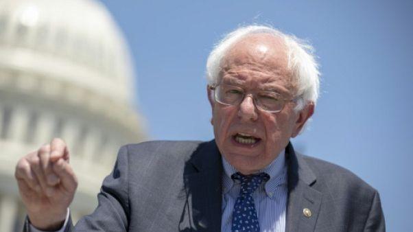 Bernie Sanders, sénateur du Vermont, le 10 juillet 2018 à Washington