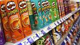 Kellogg stocks up on Pringles, cereals for fear of 'hard Brexit'