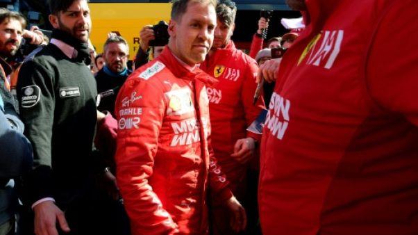 """F1: Vettel est """"plein d'espoir pour l'avenir"""""""